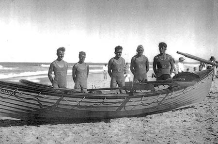 Early Surfboat