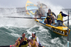 Sweeping the Surfboat..... Part 1