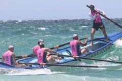 Sweeping the Surfboat - Part 2