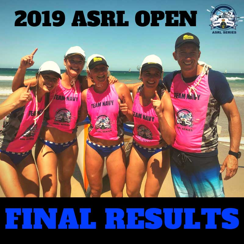 2019 ASRL Open Results