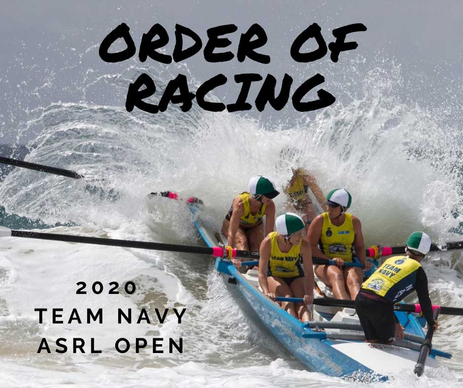 order of racing open 2020