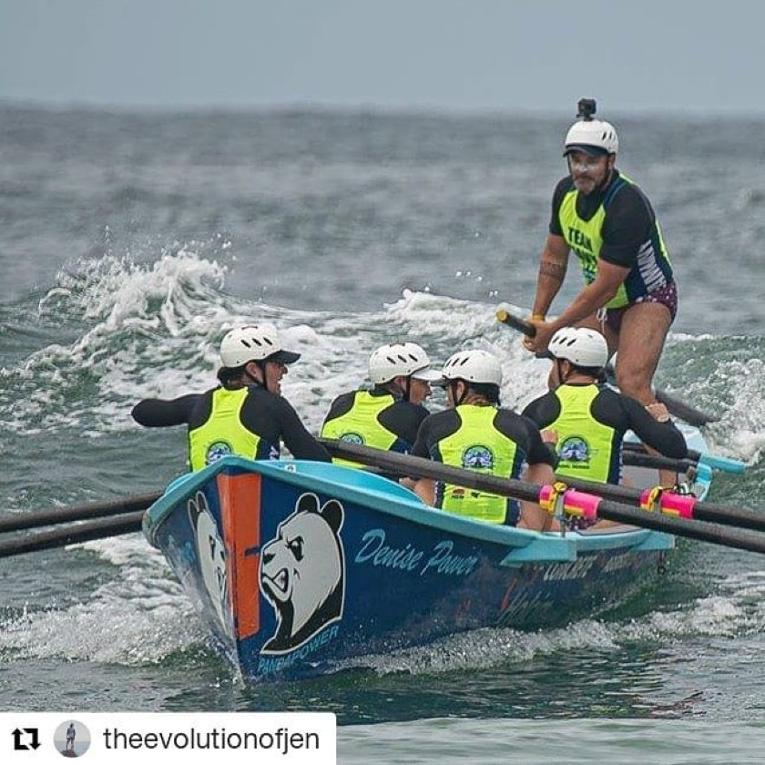 Why I Row Surfboats